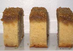 Drømmekage med marcipan Cornbread, Caramel, Low Carb, Sweets, Baking, Ethnic Recipes, Desserts, Slik, Millet Bread