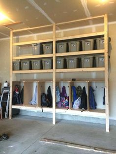 How To Build Sturdy Garage Shelves Step By Step Instruction Sturdy