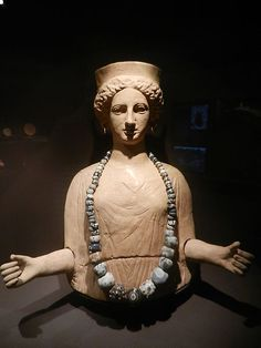 Tanit, Museu Arqueologia Barcelona. Tanith was the Great Goddess of Carthage. She is a Sky Goddess who ruled over the Sun, Stars, and Moon; and as a Mother Goddess She was invoked for fertility.