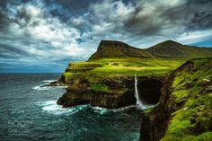 Gasadalur,Faroe Islands - Gasadalur,Faroe Islands