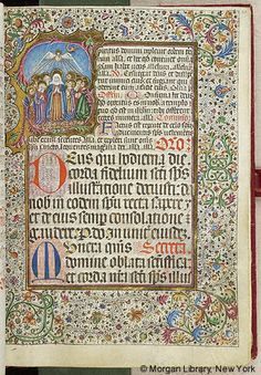 Missal, M.450 fol. 60r - Images from Medieval and Renaissance Manuscripts - The Morgan Library & Museum