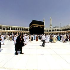 360° panoramic photography of Ka'aba in Makkah, Saudi Arabia