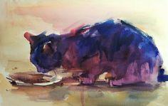 watercolor 12x19.5 inch © Yael Maimon