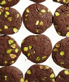 Chocolate-Pistachio Slice-and-Bake Cookies UPDATE: made these...TIME CONSUMING! And they broke apart when I was cutting them after they had been chilled for 2 hrs. They taste good but not worth time time.