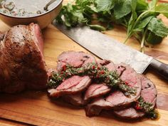 A butterflied leg of lamb is ideal for stuffing and rolling with other ingredients, and, because lamb is so robustly flavored on its own, you don't have to be shy or subtle about it. Today we're stuffing a lamb leg with crispy fried mustard seed and cumin seeds, then cooking it sous vide for perfectly foolproof results.