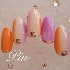Soft Nails, Almond Nails, Summer Nails, Fall Nails, Nails Inspiration, Hair And Nails, Manicure, Nail Designs, Gemstone Rings