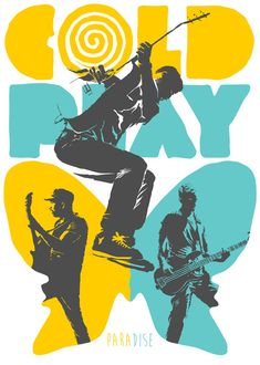 Coldplay Paradise Art Print by Butcher Billy Coldplay Poster, Coldplay Wallpaper, Chris Martin Coldplay, Pop Rock, Photo Wall Collage, Poster Prints, Art Prints, Dibujo, Marching Bands
