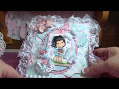 Magnolia Tilda Spring Cards for Nit Wit Collections - YouTube