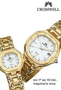 e839063531fe Relojes de oro para señora y caballero de 1ª Ley (18 Kilates) de la