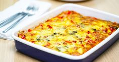 Delicious hot or cold, this quick and easy frittata will put a spring in your step.