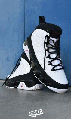 87687ede4c36ec A childhood sneaker for me! - Air Jordan drops the Jordan 9 in a decent  White   True Red   Black colorway.