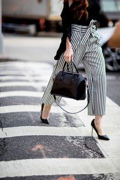 Что носят на Неделе моды в Нью-Йорке: 1 часть (фото 15)