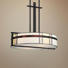 "Quoizel Luxe 4-Light 22""W Black Pendant Light -"