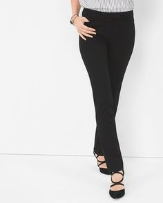 White House | Black Market Premium Bi-Stretch Slim Pants