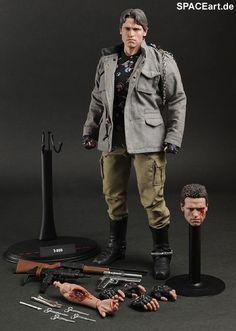Terminator: T-800, Voll bewegliche Deluxe-Figur ... http://spaceart.de/produkte/te006.php