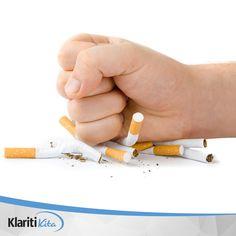 Hindari rokok. Nikotin dalam rokok dapat meningkatkan tekanan darah sebesar 10 mm Hg atau lebih, tepat satu jam setelah Anda merokok.