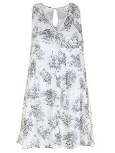 Serena Cut Out Swing Dress
