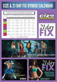Grab your free printable Cize and 21 Day Fix Hybrid Workout Calendar. Combine cardio from Shaun T's Cize Beachbody program with strength t. Cize Workout, Workout Schedule, Cardio, 21 Day Fix Workouts, Easy Workouts, Monthly Workouts, Shaun T Cize, Beachbody 21 Day Fix, 21 Day Diet