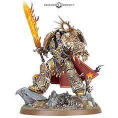 The Emperor of Mankind. A modern representation of the average roman citizens view of the roman emperor Warhammer 40000, Warhammer Paint, Warhammer Models, Sci Fi Miniatures, Warhammer 40k Miniatures, Minis, Grey Knights, Necron, Tyranids
