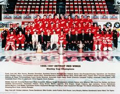 Stanley Cup Champs, Tim has this framed on our house.The drought ended! And brought on a new dynasty! Team Pictures, Team Photos, Sports Photos, Detroit Red Wings, Stanley Cup Champions, Family Love, Champs, Hockey