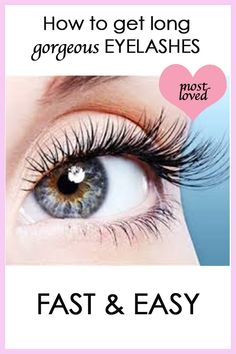 Grow long beautiful lashes! Take your look to the next level for everyday, weddings, festivals, summer, or that hot date.