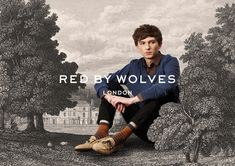 Red by Wolves | identity design by Sunny Park
