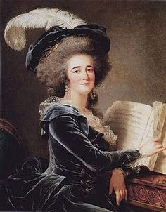 Adelaide Labille-Guiard (French Neoclassical Painter, 1749-1803) The Comtesse de Selve 1787