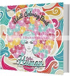 Adult Coloring Book Color Of Human