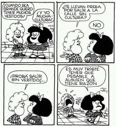 Image discovered by Alma Vidrio. Find images and videos about world and mafalda on We Heart It - the app to get lost in what you love. Bd Comics, Funny Comics, Mafalda Quotes, Humor Grafico, Calvin And Hobbes, Comic Strips, Funny Quotes, Motivational Quotes, Life Quotes
