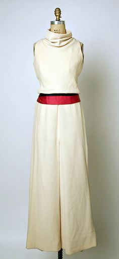 Dress, Evening - House of Dior - Marc Bohan 1964