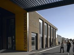 Gallery of Student Centre in the Arts University Bournemouth / Design Engine - 8