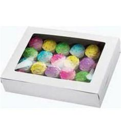 Wilton White Window Cake Box, 21 by 14 by Wilton Window Boxes make it easy to transport and present your homemade treats with pride Perfect for decorated cakes, cupcakes, cookies and Cupcake Boxes, Box Cake, Cupcake Holders, Online Craft Store, Craft Stores, Baking Supply Store, Plain Cake, Wilton Cake Decorating, Wilton Cakes