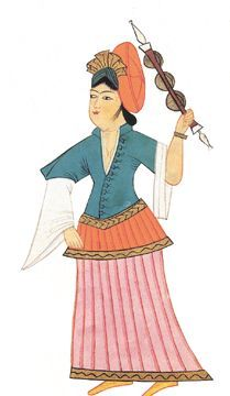 Ottoman Womans Costume