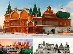Dark Roasted Blend: Russian Fairy Tale Wooden Palace: Restored!