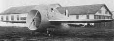"The strange ""barrel-shaped"" Italian airplane called Stipa-Caproni designed in the 1930s"