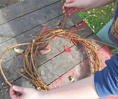 How to Weave a Grapevine Wreath. Harvest pliable vines in fall.