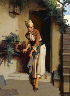 Greek Culture, European Paintings, Greek Art, Woman Painting, Art Market, Lovers Art, Impressionist, Female Art, Art Gallery