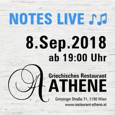 Wir freuen uns schon aufs 🍁🍂Herbstfest🍂🍁 mit Notes Live ♪♫ 📆 8. September 2018 ⏰ 19:00 Uhr  🎤 Theodoti Alexandrou und 🎸 Kosta Liaskos bringen die schönsten Lieder Griechenlands️, urige Tavernenhits, Rebetika und Bouzouki-Klänge 🎶  ________________________________ #NotesLive #TheodotiAlexandou #KostaLiaskos #greecmusik #livemusik #griechischessen #griechischeküche #griechischerwein #restaurant #griechischemusik #traditional #folklore #griechisch #greek #food #wien #grinzing Folklore, September, Clock, Nice Asses, Fall Fest