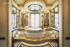 Rent Gianni Versace's Home In Manhattan Bathroom