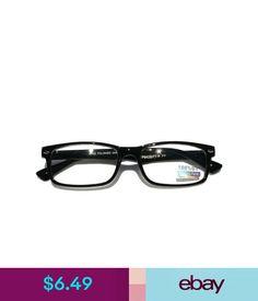 719ff70c53f Unisex Accessories Casual Interview Smart Nerd Fashion Rectangular Clear  Lens Glasses Fake Black  ebay