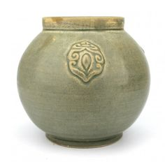 """A small Yue Yao Jar - Song Dynasty - Dimension 4 3/4"""" H x 4 3/8"""""""