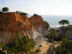 Albufeira Coastline, Portugal