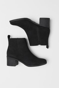 Ladies Short Boots Leather Boots Snow Boots Leather Ballet Flats Slouch Ankle Boots With Heel Brown Wingtip Boots Suede Ankle Boots, High Heel Boots, Black Booties, Heeled Boots, Black Heel Boots, Boots With Heels, Leather Boots, Asos Boots, Girls Shoes