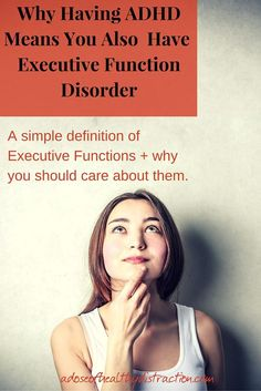 What is Executive Function and why should you care? Well...executive functions are basically EVERYTHING when it comes to functioning as an adult. Let me walk you through what I have learned.
