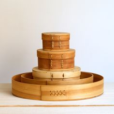 Shaker boxes and trays Wooden Containers, Wooden Boxes, Betula Pendula, Tree Roots, Linseed Oil, Shaker Style, Decorative Items, Birch, Woodworking Projects
