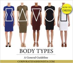 Discover How To Dress Your Body Type (Once & For All!) | http://www.corporatefashionista.com/