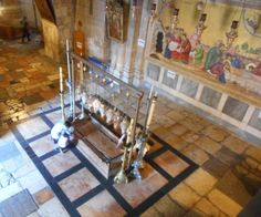 Church of The Holy Sepulchre - Stone of the Unction - Jerusalem, Israel