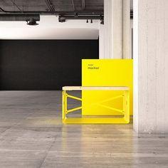 Weil knalliges Zinkgelb egal in welcher Größe & Option immer perfekt funktioniert!  #lasery #hocker #furniture  #interiordesign #design #home #inspiration #yellow Interiordesign, Furniture, Instagram, Inspiration, Don't Care, Stool, Biblical Inspiration, Home Furnishings, Inspirational