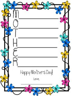 father's day border sparklebox