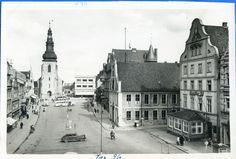 Insterburg / Ostpreußen, Alter Markt mit Lutherkirche